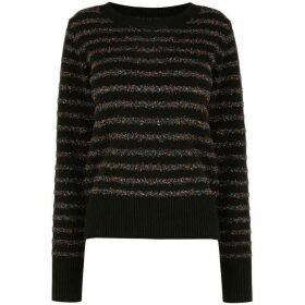 Oasis Serina Tinsel Stripe Knit