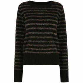 Oasis Serina Tinsel Stripe Knit