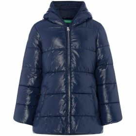 Benetton OW Heavy Puffa With Hood