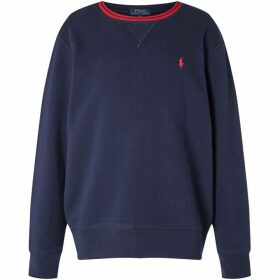 Ralph Lauren Crew Neck With Tipped Collar