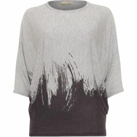 Phase Eight Becca Brushstroke Print Knit