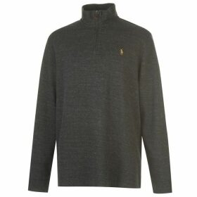 Ralph Lauren Polo Mens Long Sleeve Quarter Zip Sweat