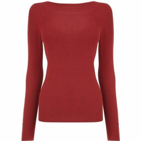Oasis Curved Boatneck Knit