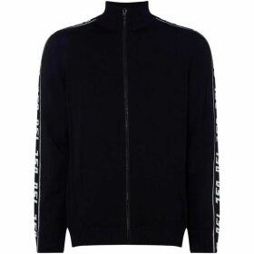 Diesel Zip-Thru Funnel Neck Top