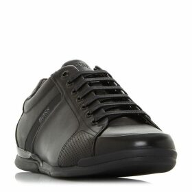 Boss Saturn Low Perf Leather Sneakers