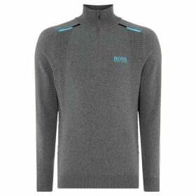 Boss Zelchior Golf Technical Funnel Neck Top
