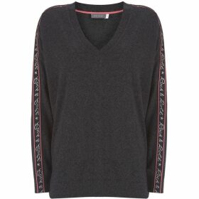 Mint Velvet Charcoal Rock & Roll Knit