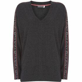Mint Velvet Charcoal Rock & Roll Knit