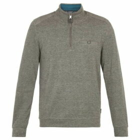 Ted Baker Jacquard Long-Sleeved Layering Jumper