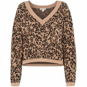 Whistles Jungle Cat Jacquard Knit