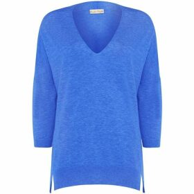 Phase Eight Estel Ellipse Hem Vneck Knit