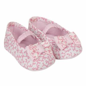 Absorba Baby Girl Bootees Or Stockings Peach
