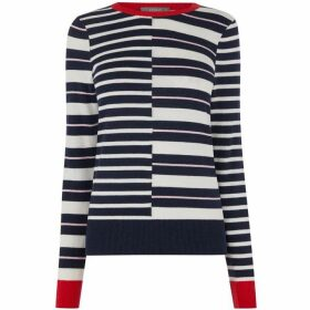 Oasis Chessie Splice Knit