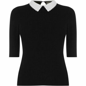 Oasis Scallop Collar Knit