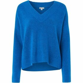 Whistles Oversized V Neck Knit