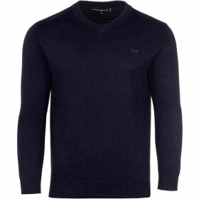 Raging Bull V-Neck Cotton/Cashmere Sweater