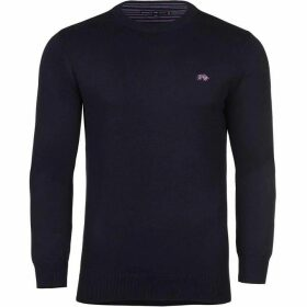 Raging Bull Big And Tall Cotton/Cashmere Crew Neck