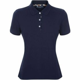 Aquascutum Justina Short Sleeve Piquet Polo