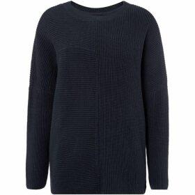 Label Lab Anna asymmetric cotton rib knit