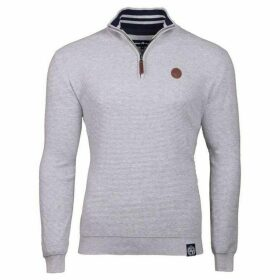 Raging Bull Big And Tall Rib Knit quarter Zip