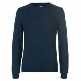 Linea Holden Diagonal Textured Chunky Knit Jumper