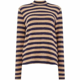 Maison De Nimes STRIPED WARM HANDLE ROLL NECK
