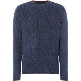 Penguin Merino Bucket Weave Crew Neck
