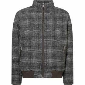 Native Youth Checked Short Jacket