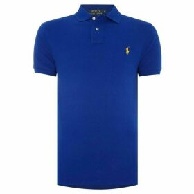 Ralph Lauren Slim Fit Basic Mesh Polo