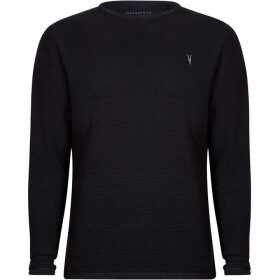 All Saints Clash Long Sleeve Crew Top