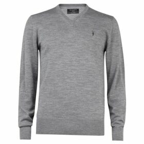 All Saints Mode Merino V Neck