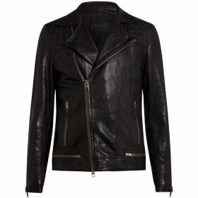 All Saints Conroy Leather Biker