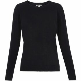 Whistles Twist Back Crew Neck Knit