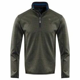 Calvin Klein Golf Track Half Zip Knit Jumper
