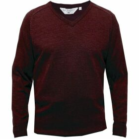 Double Two King Size V Neck Sweater