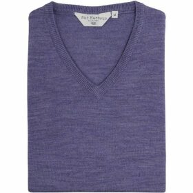 Double Two King Size V Neck Sleeveless Sweater