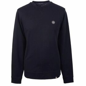 Pretty Green Loopback Cotton Crew Neck Sweat