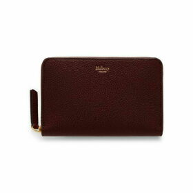 Mulberry Zip Coin Pouch