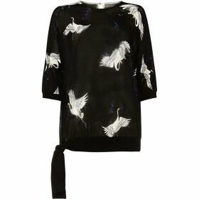 Phase Eight Oda Oriental Bird Knit