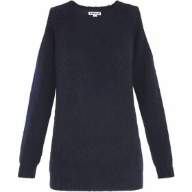 Whistles Cold Shoulder Mohair Knit