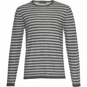 French Connection Double Stripe Long Sleeved Top