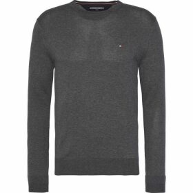 Tommy Hilfiger Core Cotton-Silk Crew Neck Sweater