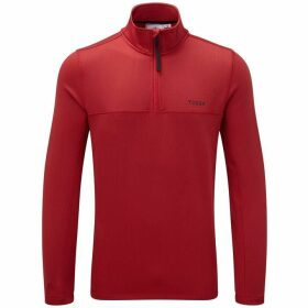 Tog 24 Monty Mens Tcz Stretch Fleece Zip Neck