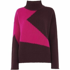 Whistles Star Intarsia Knit
