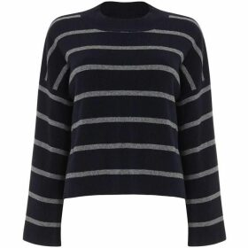 Phase Eight Francina Stripe Flared Sleeve Knit