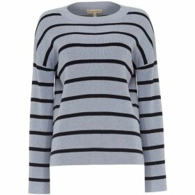 Phase Eight Bernelle Stripe Flared Sleeve Knit