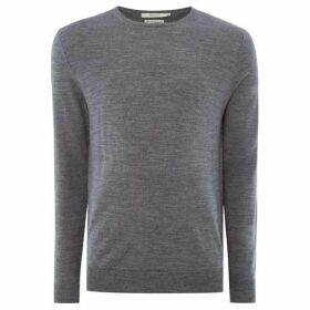 Jack and Jones Mark jaspe crew neck knit