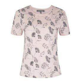 Camellia Cow Parsley Print TShirt