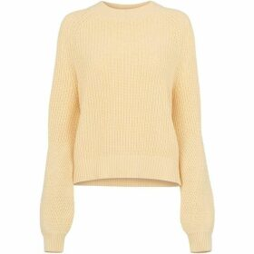 Whistles Fashion Detail Cotton Knit
