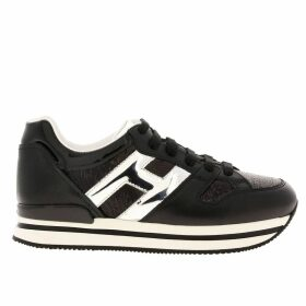 Hogan Sneakers 222 Hogan Sneakers In Patent Leather And Sequins